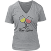 Womens V-Neck - Wine Licious