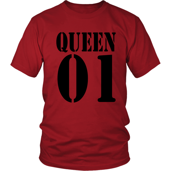 Heavyweight Unisex Shirt - Queen 01