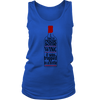 Womens Tank - I had to Rescue Some Wine