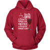 Unisex Hoodie - Coffee and Wine 02