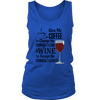 Womens Tank - Give Me Coffee and Wine