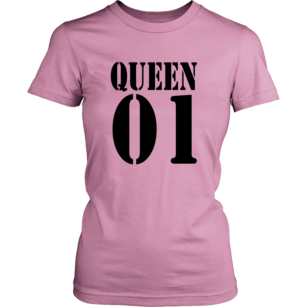 Womens Shirt - Queen 01 in the Making