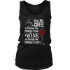 Womens Tank - Coffee and Wine 02