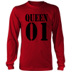 Long Sleeve Shirt - Queen 01
