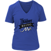 Womens Shirts - I am Happy Being Me