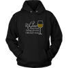 Unisex Hoodie - I'm One Glass