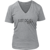 Womens V-Neck - Just Do It 2