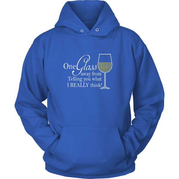Unisex Hoodie - One Glass