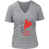 Womens V-Neck - Follow your Heart