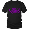 Heavyweight Unisex Shirt - Queen B in the Making Purple