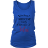 Womens Tank - Weekend Forecast 100% Chance of Wine 02