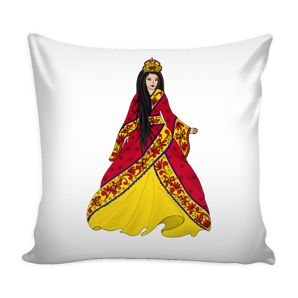 Pillow Cover - Asian Princess