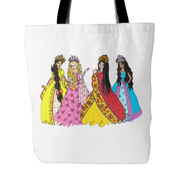 Tote Bag - Princess Friends Talking