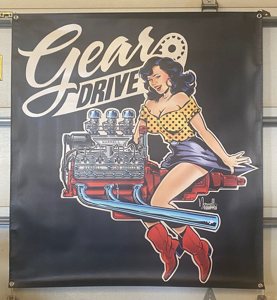 Gear Drive Banners
