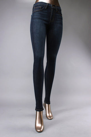 Dark Wash Denim Skinny Jeans
