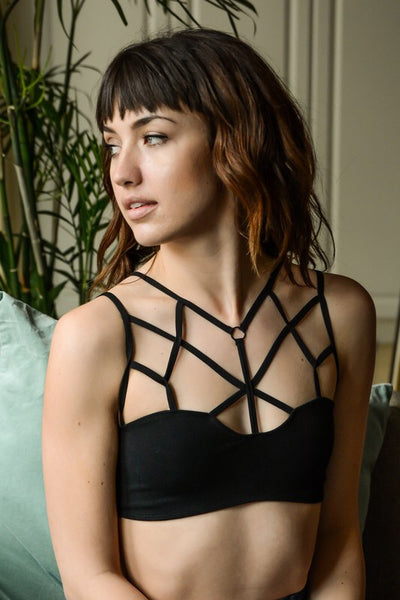 Cage Front Bralette