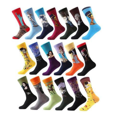 Graphic Novelty Socks