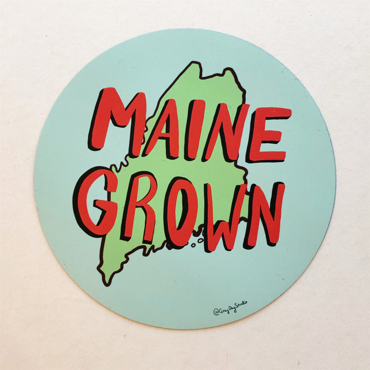 Maine Grown Magnet- Stickers & Magnets