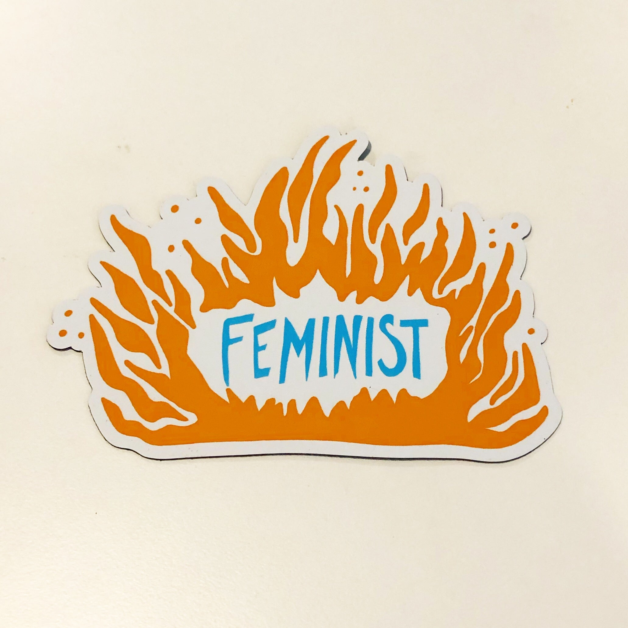 Feminist - MAGNET- stickers & magnets