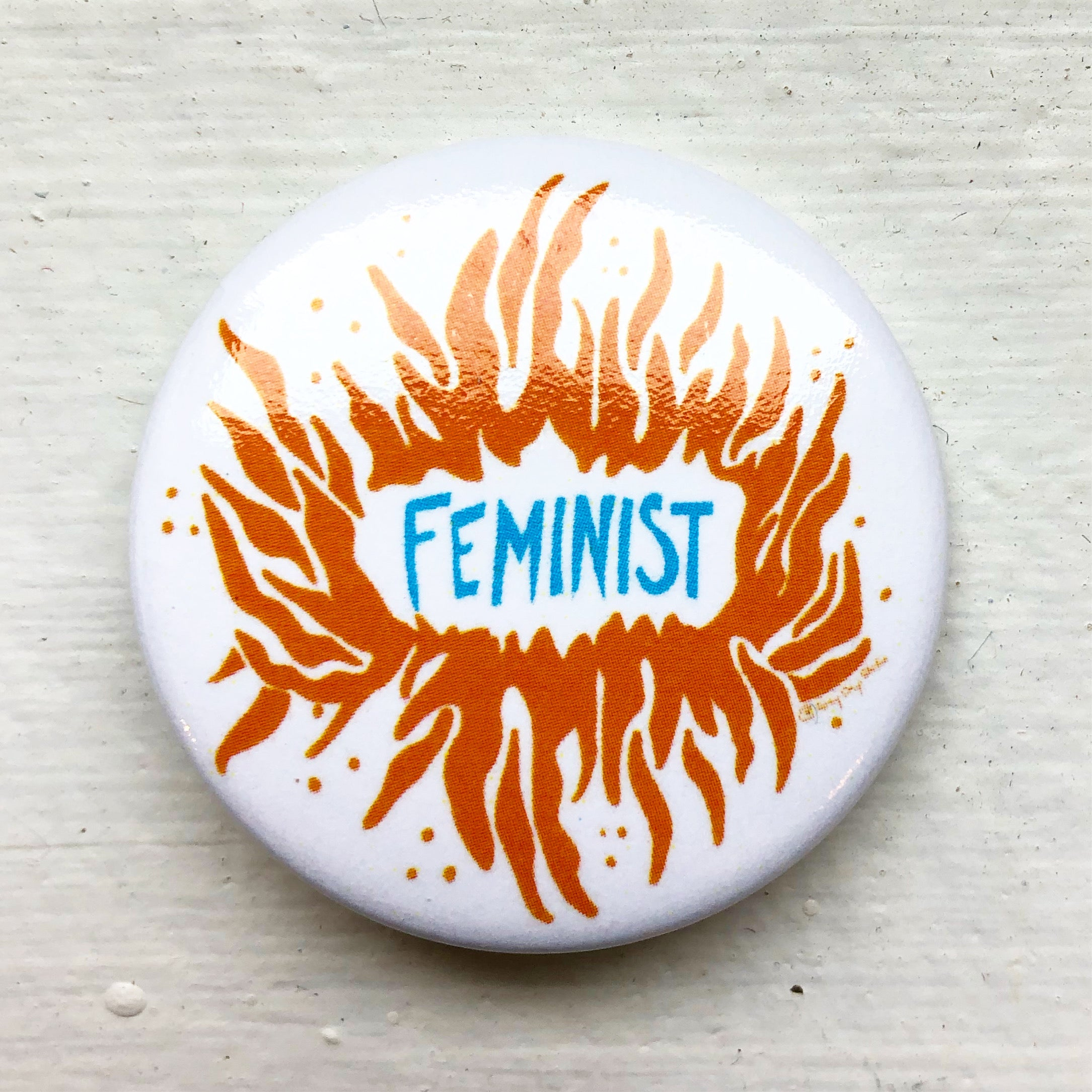 Feminist, political activist Swag, button- Pins