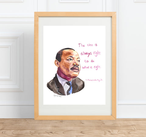 Mr. Rogers Portrait and inspirational quote--Print