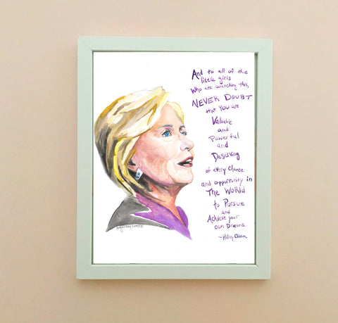 Cecile Richards--Print