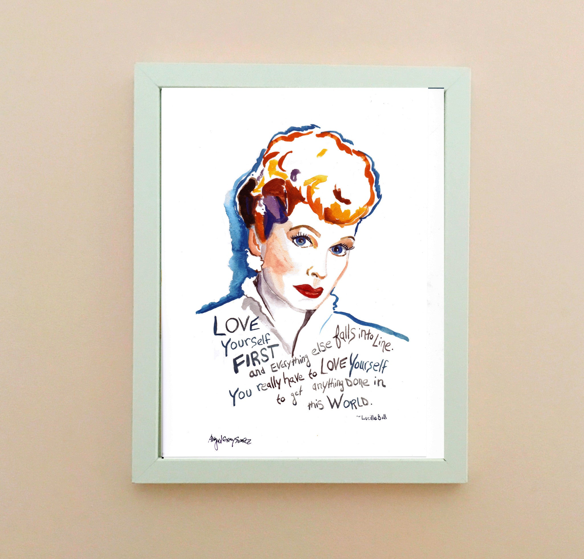 I Love Lucy--Print