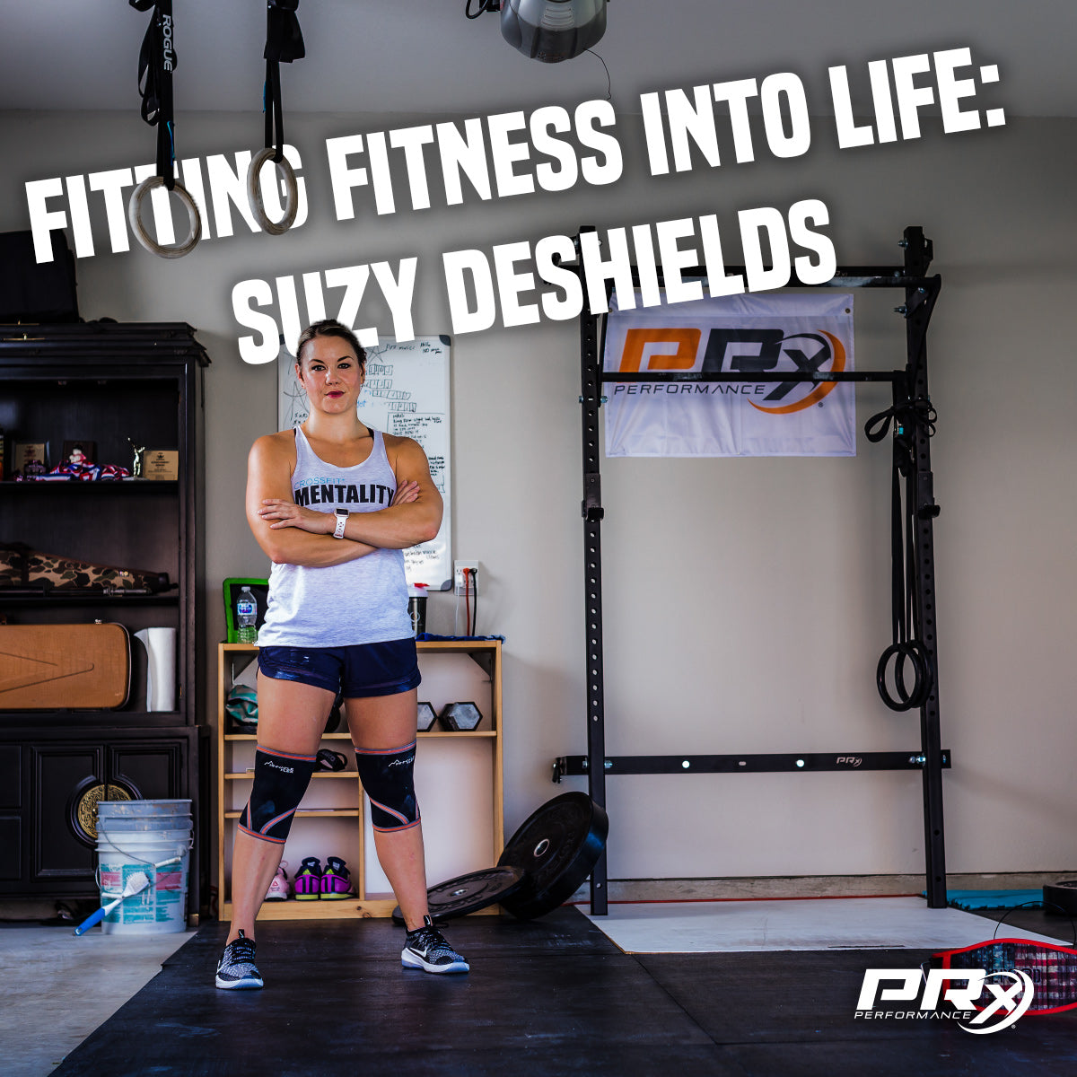 Fitting Fitness into Life: Suzy DeShields