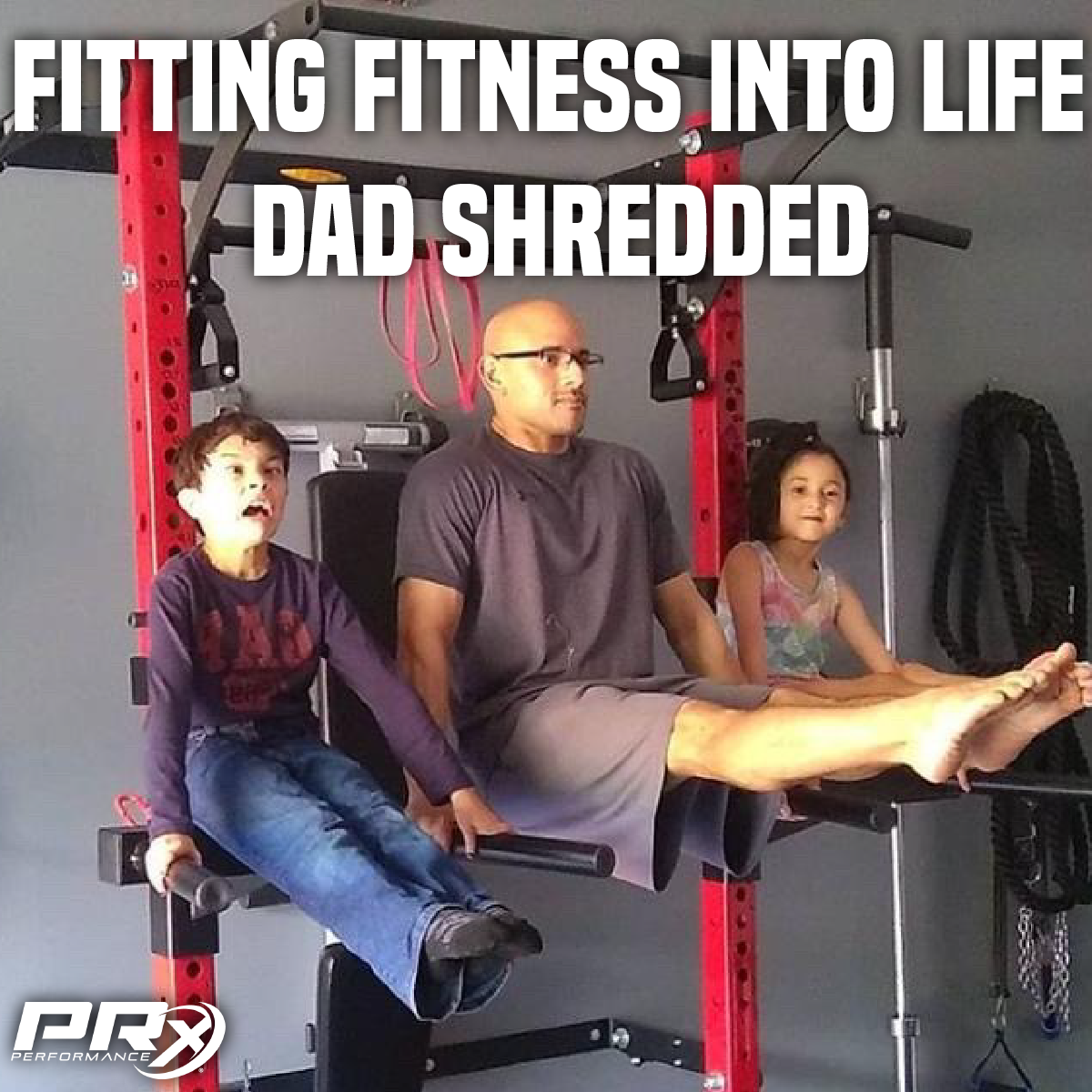 Fitting Fitness into Life: Dad Shredded