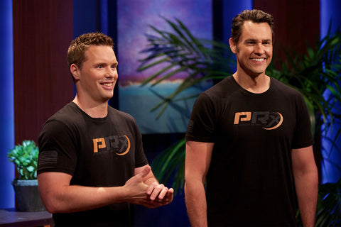Brian and Erik on Shark Tank
