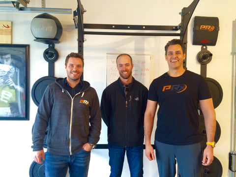 Smiling PRx Performance Guys - We're going to be on Shark Tank!