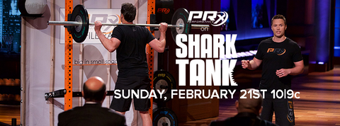 PRx Performance on Shark Tank!