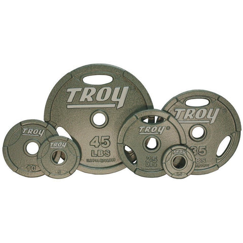 Bars, Plates And Collars - TROY Machined Grip Plates (Pairs)