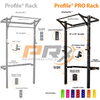 Profile® Racks - Start: Profile® PRO Squat Rack With Pull-Up Bar - BYO Package