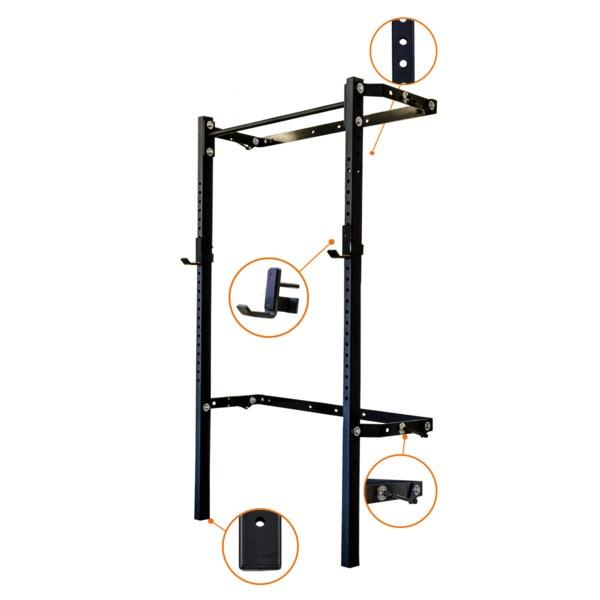 Profile® Racks - Start: Profile® Squat Rack With Pull-Up Bar - BYO Package