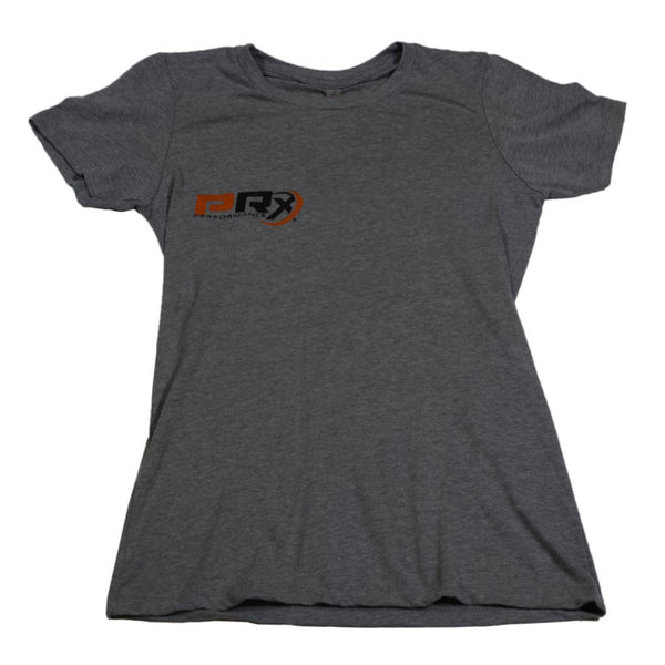 Women's Apparel - Women's Fitted Crew T-Shirt - PRx Criss Cross Barbell