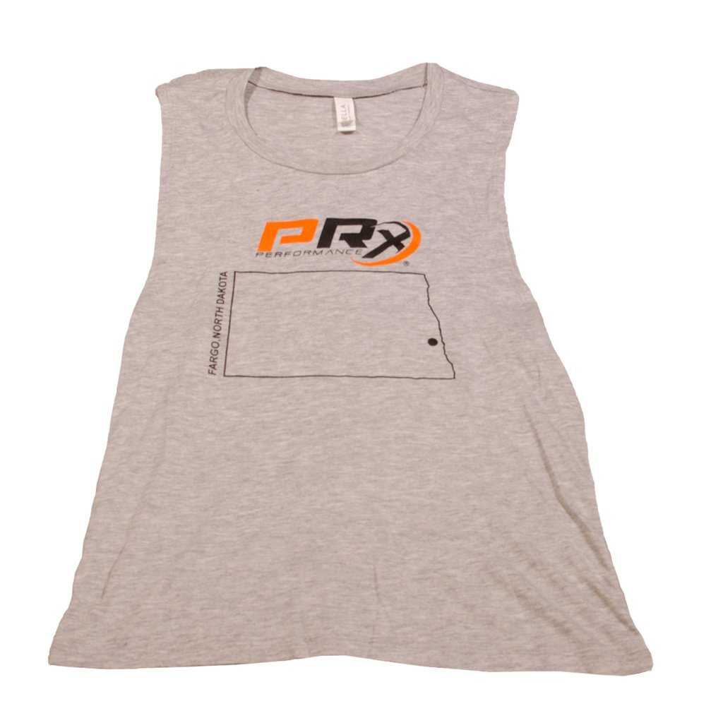 Women's Flowy Muscle Tank - PRx State of ND