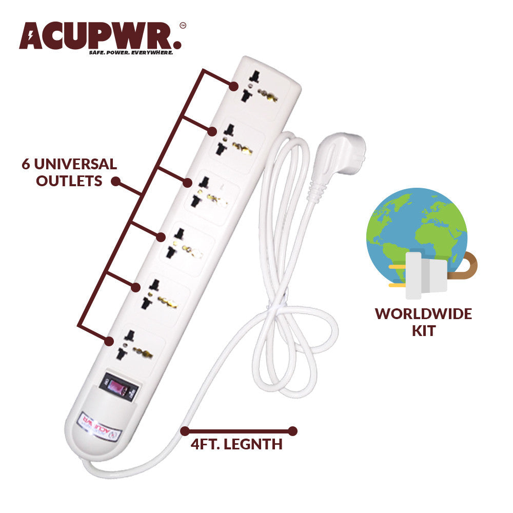 The Perfect Product for the Techy Globe-Trotter: The Global Surge Protector