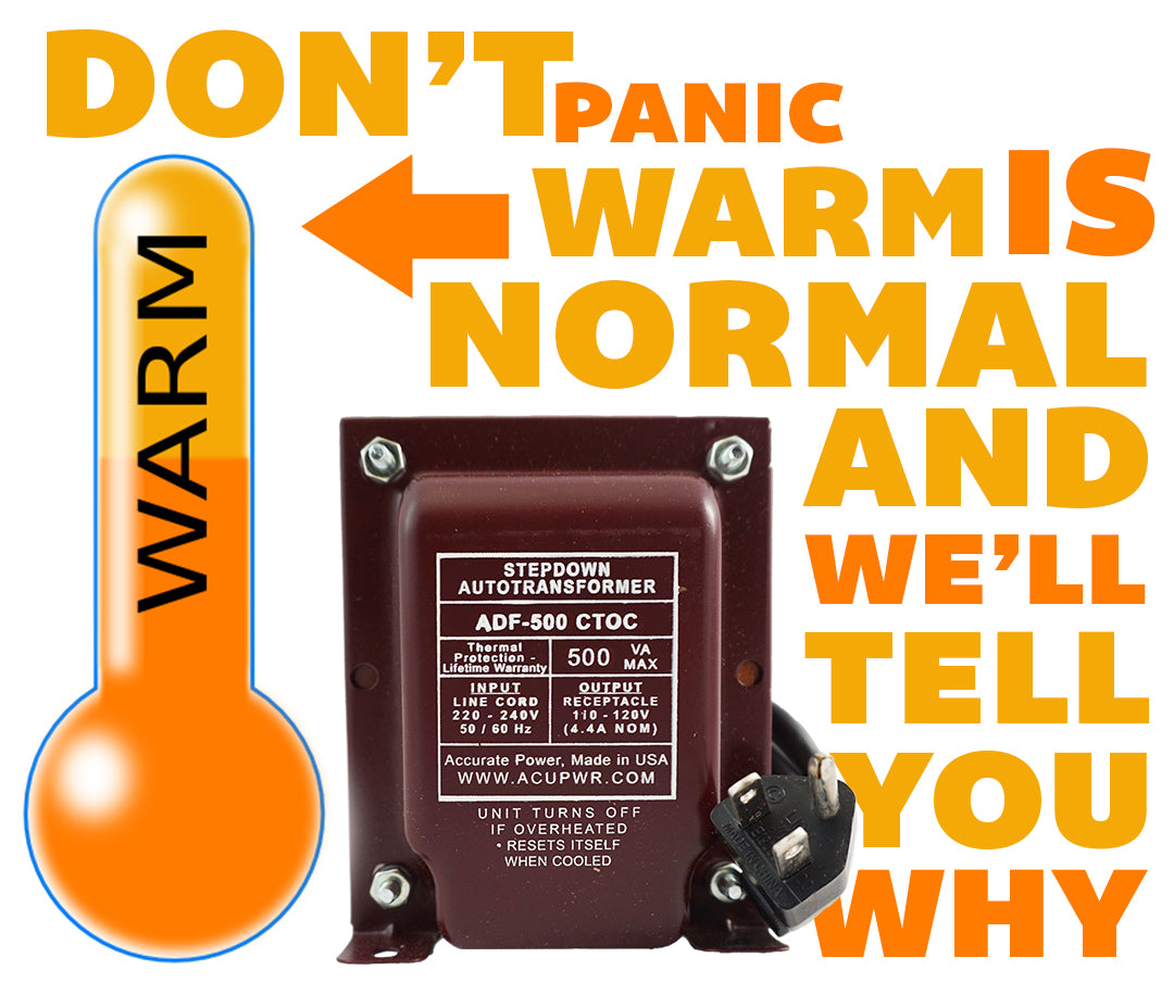 Transformers Get Warmdont Panic Acupwr Power Supplies Gt Dual Low Voltage Supply Circuit Breaker An Customer Contacted Us In A State Of Because Her Transformer Was Getting Significantly Warm Not Enough To Fry Egg On
