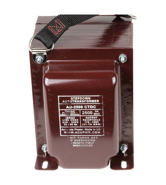 2500-Watt Step-Down Transformer (AD-2500IEC)