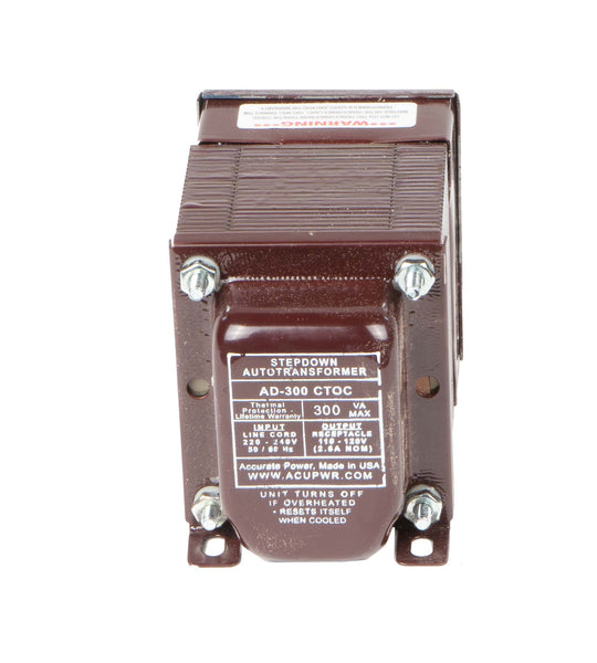 300 Tru-Watts™  Step Down Voltage Transformer  AD-300IEC