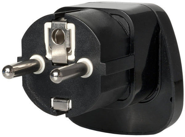 Universal to Type F Plug Adapter