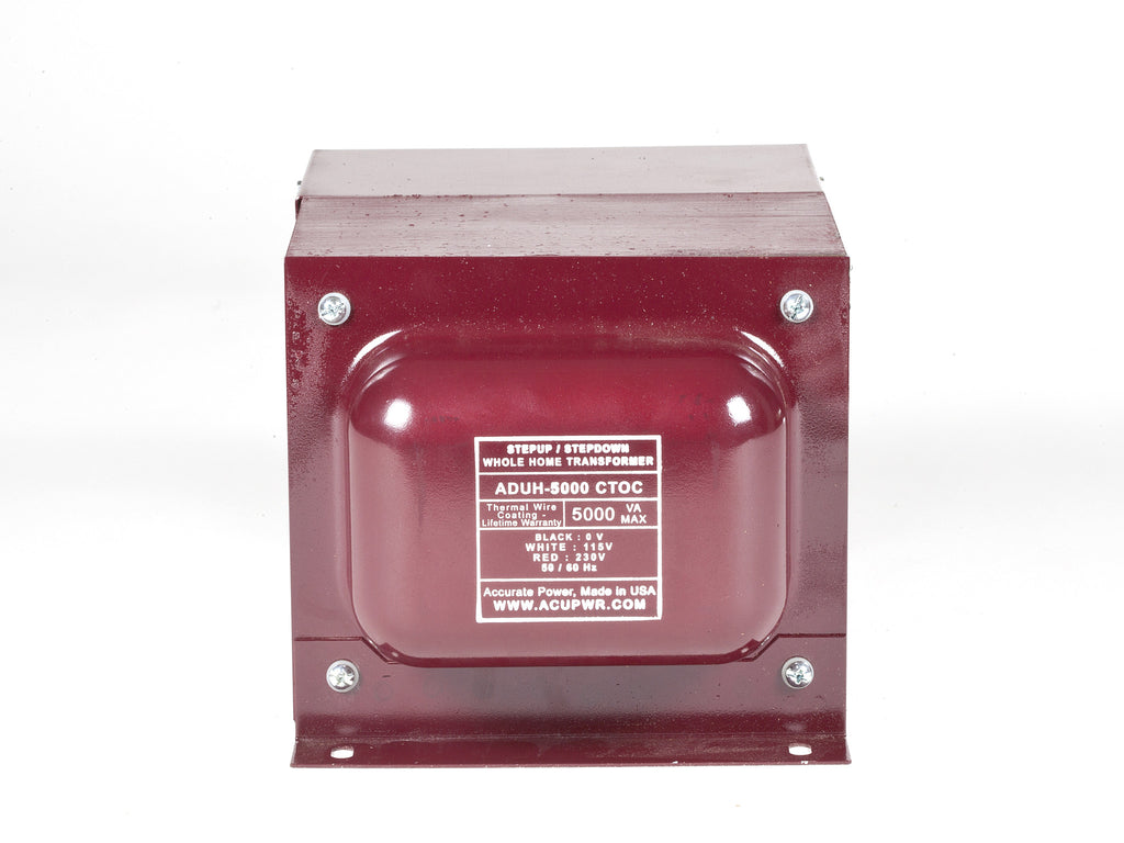5000 Tru-Watts™ Step Up/Step Down Hard-Wire Voltage With Knock-Out ...