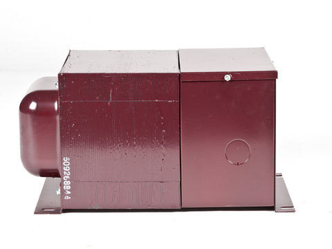 ACUPWR red 1500-Watt Voltage Transformer (AHJ-1500EUD) side view