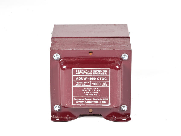 1000-Watt Hard-Wire Voltage Transformer (ADUW-1000)