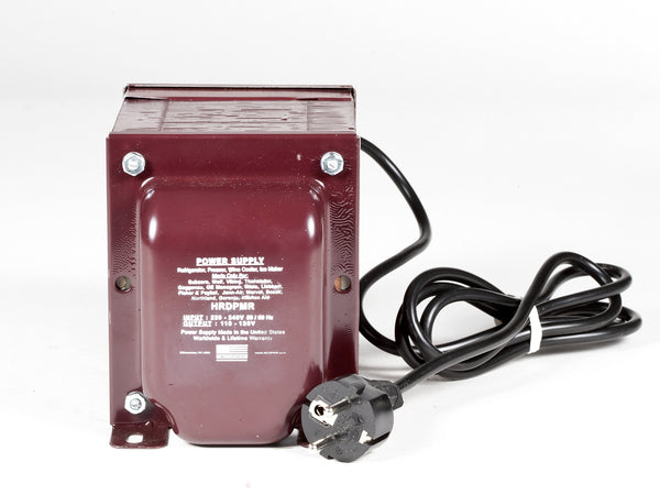 HRDPMR Special High-end Refrigerator, Freezer, Wine Cooler 220Volt to 110Volt - Step Down Voltage Transformer - ACUPWR USA