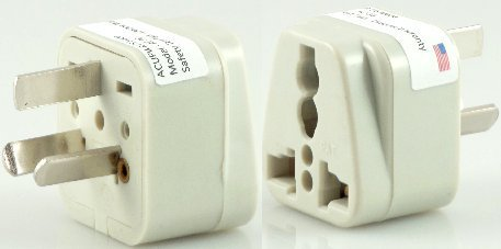 Universal to Type I Wall Plug Adapter