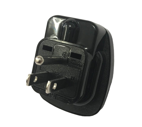 Universal to Type B Plug Adapter - SU-23W - ACUPWR USA  - 2