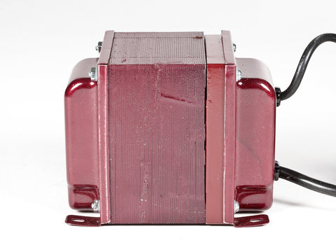 ACUPWR red 1000-Watt Military-Grade Step-Up Transformer (AUPG-1000) side view