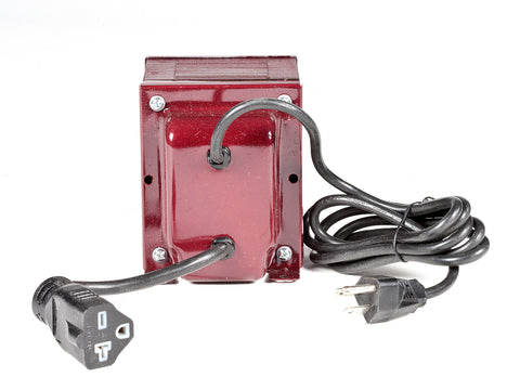 ACUPWR red 1000-Watt Military-Grade Step-Up Transformer (AUPG-1000) back view